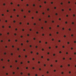 Woolies Flannel Dots Red