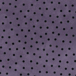 Woolies Flannel Dots Violet