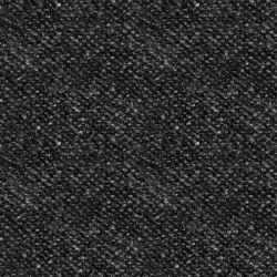Woolies Flannel Tweed Black