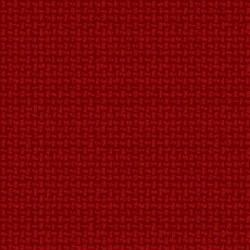 Woolies Flannel Basket Weave Red