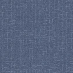 Woolies Flannel Crosshatch Blue