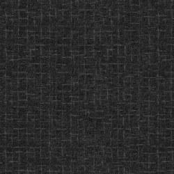 Woolies Flannel Crosshatch Black