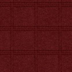 Woolies Flannel Tartan Grid Red
