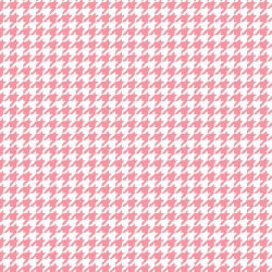 Little One Flannel Check White Pink