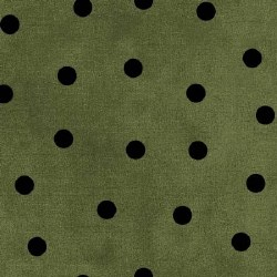 Most Wonderful Time Dots Green