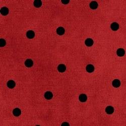 Most Wonderful Time Dots RedBK