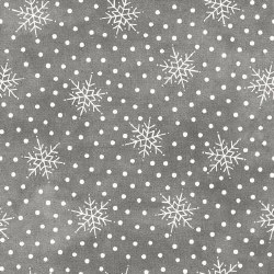 Most Wonderful Time Snow Grey