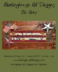 Old Glory by Meetinghouse Hill