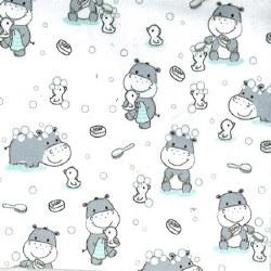 Minky Bath Buddies White