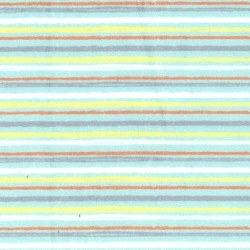 Minky Duck Bath Stripe Mint