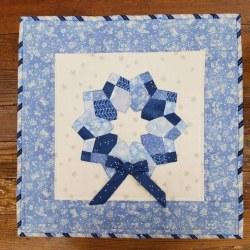 Double Wd 4 Patch Dres BlueKit