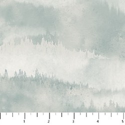 Misty Mountain Flannel Gray