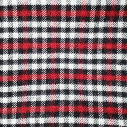 West Creek Flannels Blk Red Cr