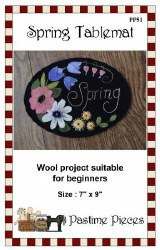 Spring Tablemat by Pastime Pie