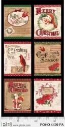 Postcard Holiday Panel