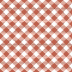 Prairie Sisters Gingham Red