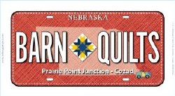 License Plate Barn Quilts '17