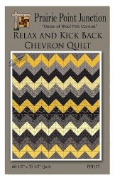 Relax and Kick Back Chevron