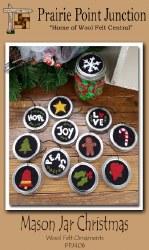Mason Jar Christmas Ornaments