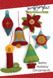 Retro Holiday Ornaments