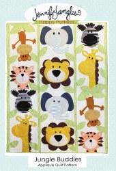 Jungle Buddies Applique Quilt