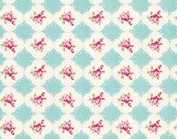 Rosey Cameo Rose Teal
