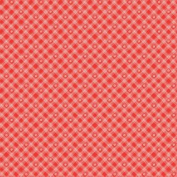 From the Heart Plaid Red