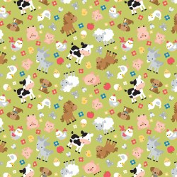 Down on the Farm Animals Green Stash Builder