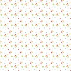 Strawberry Honey Flowers White