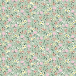 Easter Egg Hunt Floral Mint