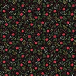 Snowed In Berries Black