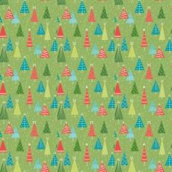Snowed In Trees Green