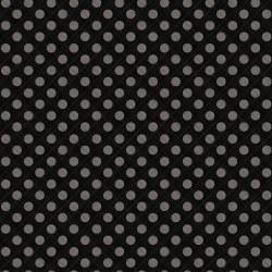 Snowed In Sketched Dots Black
