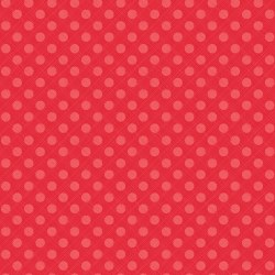 Snowed In Sketched Dots Red