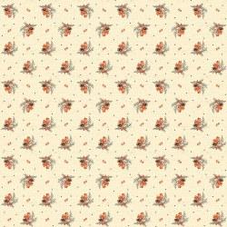 Bountiful Autumn Sprigs Cream