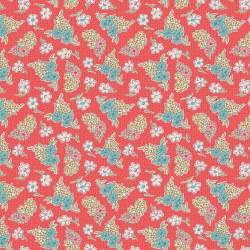 Stitch Floral Cayenne