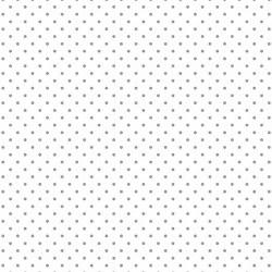 Swiss Dot White Grey