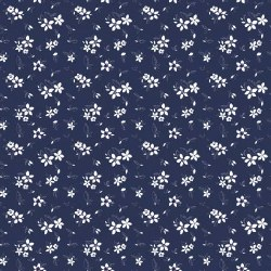 Something Borrowed Floral Navy