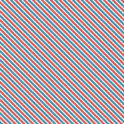Love Letters Stripe Blue