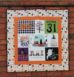 Hocus Pocus Panel Quilt Kit