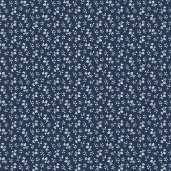 Tranquility Blossoms Navy