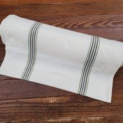 """Toweling 18"""" Buttermilk Dk Gre"""