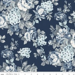 Tranquility 108 Inch Wide Navy
