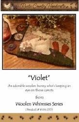 Violet Mug Rug