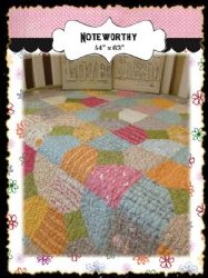 Noteworthy Charm Quilt Pattern