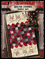 Quilted Friends Patriotic