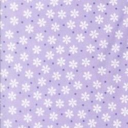 Cozy Cotton Flowers Lavender