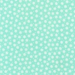 Cozy Cotton Flower Mint