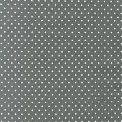 Cozy Cotton Grey Dots