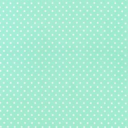 Cozy Cotton Mint Dots